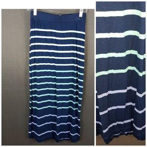 4/10- Apt. 9 stripe skirt XS